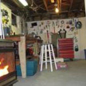 my workshop in my basement