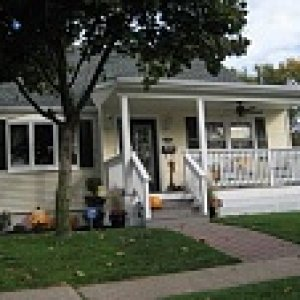 My first house after it was remodeled.  I have moved out of this house since