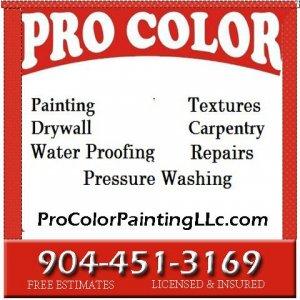 pro color sign