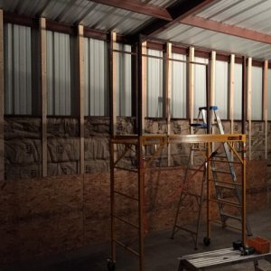 insulation going in (itch itch)