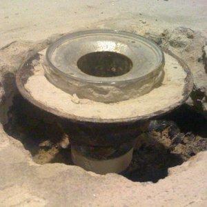Slab 1  Old tile drain