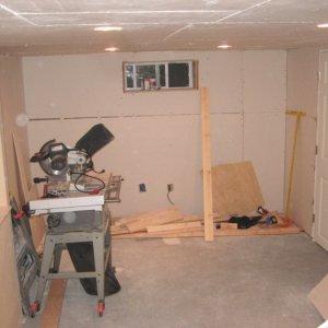 Update on basement