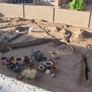 natural gas line installation