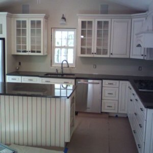 Kitchen in a century home remodel.