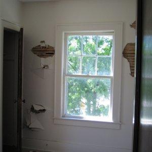 south-facing bedroom