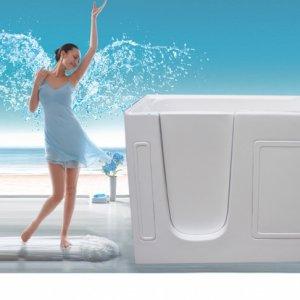 New acrylic walk in tub walk in bathtub ,ideal for modern bathroom remodeling
