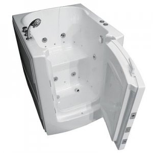 Acrylic walk in tub for seniors' bathroom ,independent