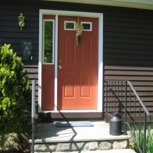 New front door needs a change of color