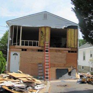 STEP 6 - Frame left slider into window