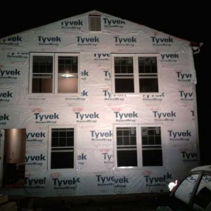 STEP 10 - Install housewrap