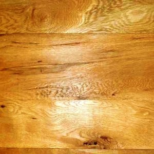 White Oak with Knots & Bird Pecks - by Historic Flooring