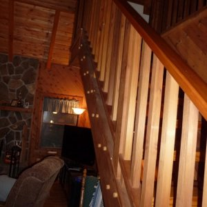 Cabin Stairs - by Historic Flooring