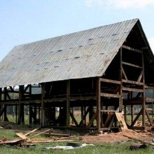 Original Timber frame re erected Fortson GA