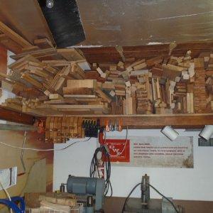2' - 4' wood storage
