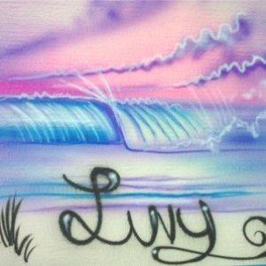 Airbrush Beach mural