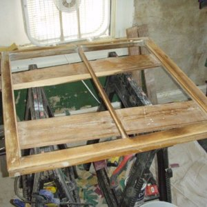 2011 Window stripped bare