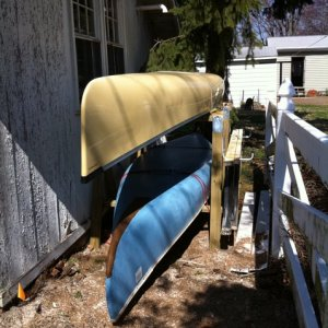 2011 Canoe rack