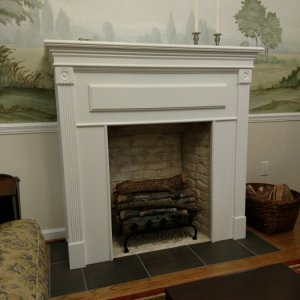 06   Completed Fireplace