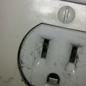 Receptacle Behind Couch