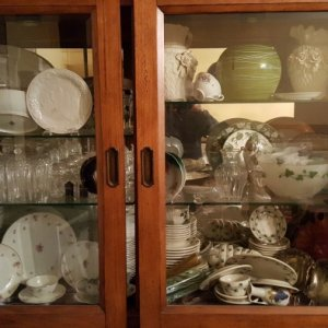 "November 30, 2018 - 7.0 magnitude earthquake ""remodeled"" my china hutch.  Amazingly nothing broke, not even the antique china handed down by my..."