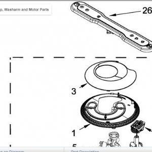 Dishwasher Maytag MDB4949SDM Filter