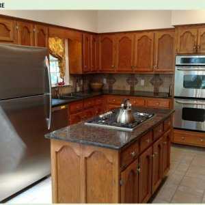 "Kitchen Cabinet ""Re-Facing"""