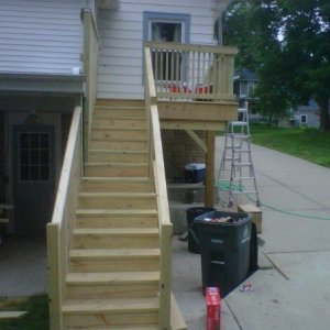 deck almost