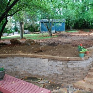 backyard 4 Grading almost finished