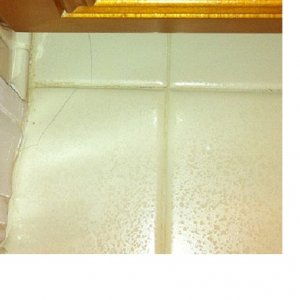 cracked tile bathroom