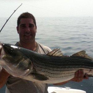 Me Striper Fishing