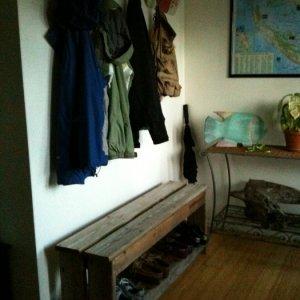 Hallway bench
