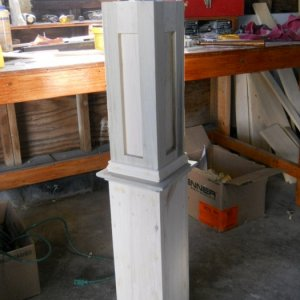 post 030- Newel Post taking shape!