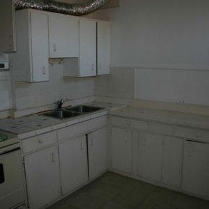 main floor kitchen before