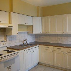 main floor kitchen after