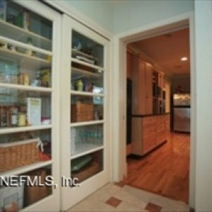 The last part of the addition was the utility room. The pantry sliding glass doors were taken from other area's of the house when renovating