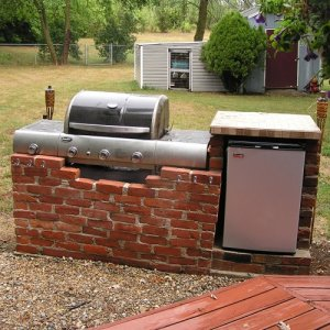 grill fridge work