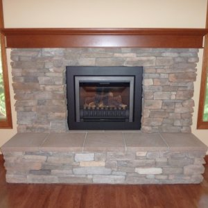 Cultured Stone with insert