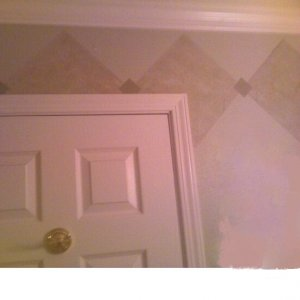 4d3e8532 (1).3 This Bathroom is right off the Kitchen which was part of the remodel, in this tract house bathroom  we added new crown moulding,...