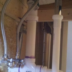 bath drain w studor valve