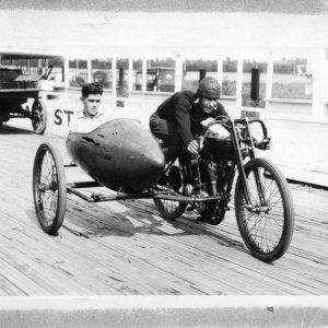 1920's Motorcycle Board Track Racing