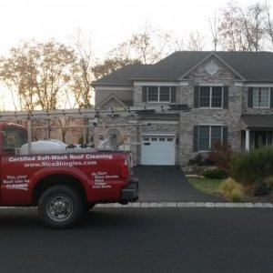 New roof Replaced in Stroudsurg PA.  We offer exceptional warranties for new roofs.