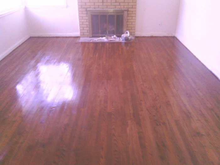 1940s floors refinished