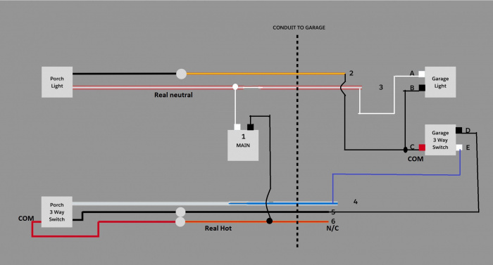 3 Way Switch Puzzle! - Electrical - DIY Chatroom Home ...  Way Switch Wiring In Conduit on 3 way switch terminals, 3 way switch schematic, 3 way parts, 3 way switch configuration, 3 way switch wire, 3 way install, 3 way switch outlet, 3 way switch connections, 3 way switch fans, 3 way switch receptacle, 3 way relay switch, 3 way sensor switch, 3 way switch installation, 3 way pull chain, 3 way switch circuits, 3 way light, 3 way switch screws, 3 way switch trim, 3 way fuse, 3 way switch operation,