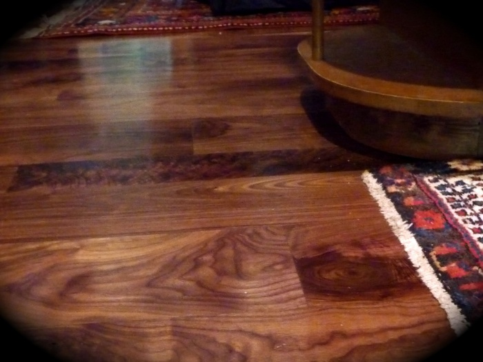 American Black Walnut with Gloss Finish - by Historic Flooring