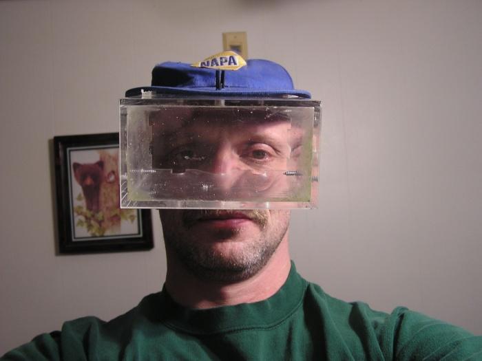 aqua hat