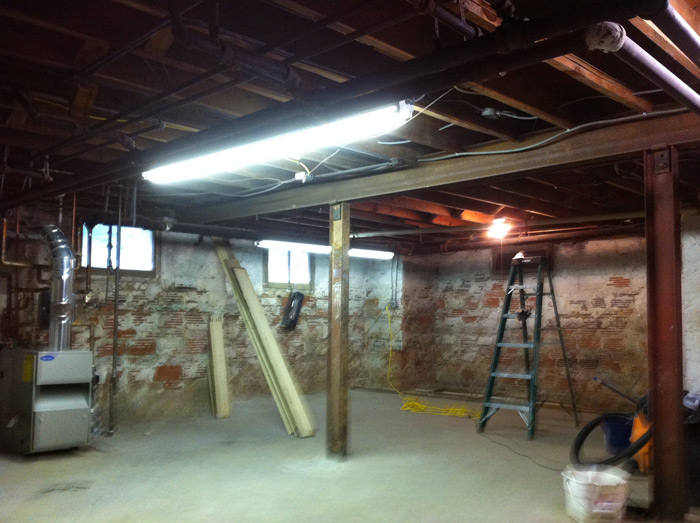 paint unfinished basement ceiling painting diy