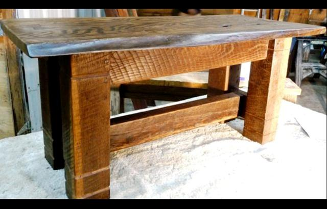 Black Walnut Bench Seating - by Historic Flooring