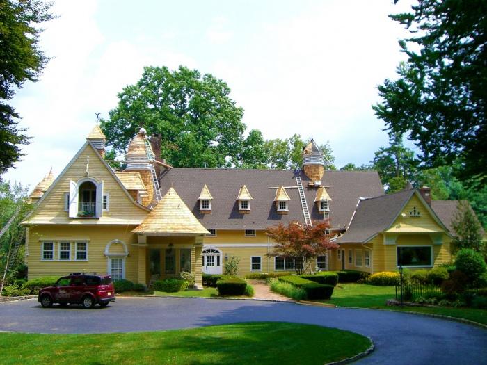 clark residence, rumson nj