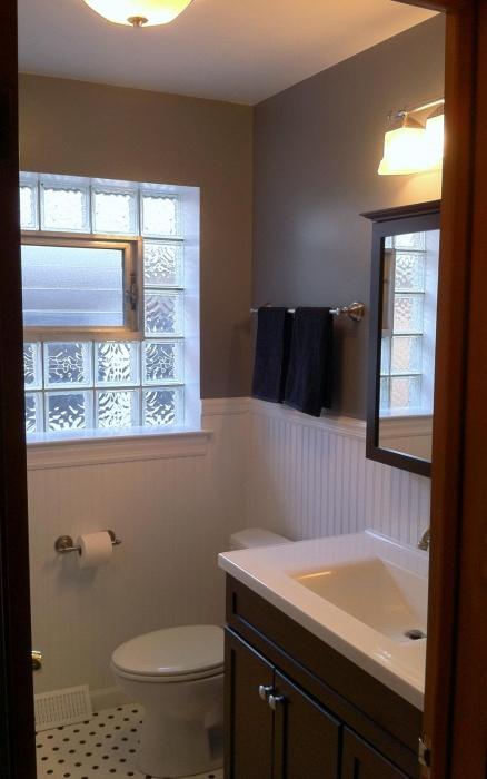COMPLETE! towel bars, toilet, toilet paper holder, vanity and sink, register