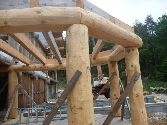 Eastern White Pine Log Structure - By Historic Flooring